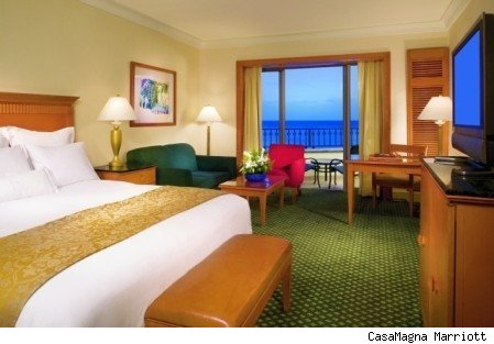 The guestrooms are quite large; you'll have plenty of space
